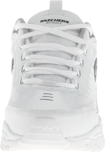 Skechers Men's Energy After Burn Low Top Sneaker Shoes White 10.5