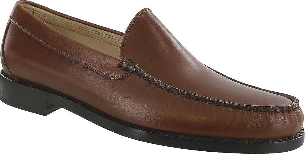 SAS Men's Imperial Moc Toe Loafer Russet Leather 11.5 M