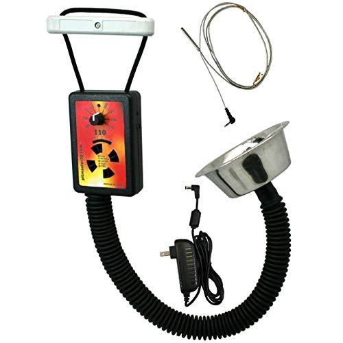 PitmasterIQ IQ110 BBQ Temperature Regulator Kit W/Standard Pit Adapter For Weber Smokey Mountain, Weber Kettle & Many Other BBQ Smokers