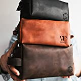 Personalized Gift Leather Dopp Kit Mens Gift...