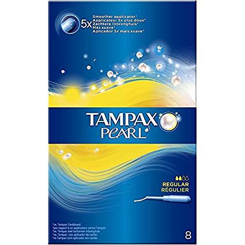 TAMPON TAMPAX PEARL REGULAR 8 - 6 cajas