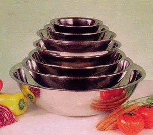 Winco MXB-3000Q Mixing Bowl, 30-Quart – Set of three