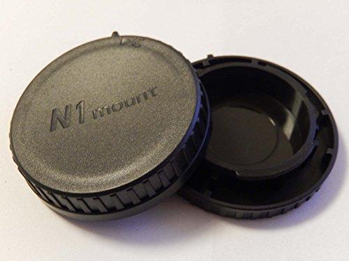 vhbw Objektiv Deckel Set mit N1-System passend für Kamera Nikon 1 V1, V2, V3, J1, J2, J3, J4, S1, S2, AW1.
