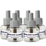 FELIWAY Classic Cat Calming Pheromone, 30 Day Refill - 6 Pack