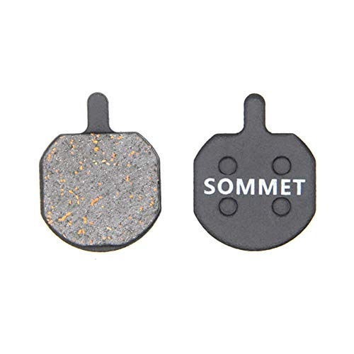 SOMMET Pastiglie Freno a Disco Semi-Metallico per Hayes Sole MX2 MX3 MX4 MX5 CX5 PROMAX DSK810
