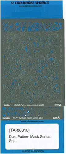 テトラモデルワークス TAシリーズ ダストパターンマスクセット1 エッチングマスクシート TA0018