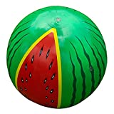 biteatey Bolas de agua hinchables, bolas de chorro de agua al aire libre, gran pelota de melón para verano, aspersor de agua, juguete para el jardín, el césped, al aire libre, 60 cm