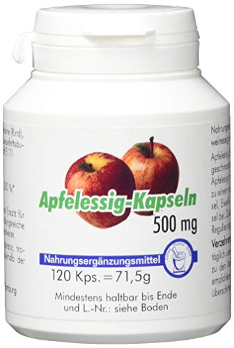 Pharma-Peter APFELESSIG 500 mg, 120 Kapseln
