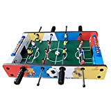 ZHSHZQ Mini Table Football Game, Foosball Soccer Game Set Regalos for niños, Uso en Interiores y Exteriores