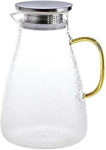 Tetera de litro, jarra de agua sin BPA, con boquilla de acero inoxidable y práctico cierre de primer plano, taza de té (tamaño: 1500 ml) (tamaño: 2000 ml)