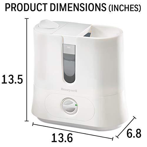 Honeywell Easy to Care Removable Top Fill Ultrasonic Cool Mist...