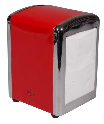 Cabanaz Tissue Dispenser RD, 12 x 11 x 16 cm, Red