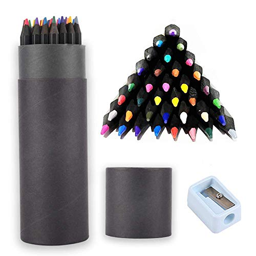 Johiux 36 Colouring Pencils, Professional Drawing Pencils, Colored...