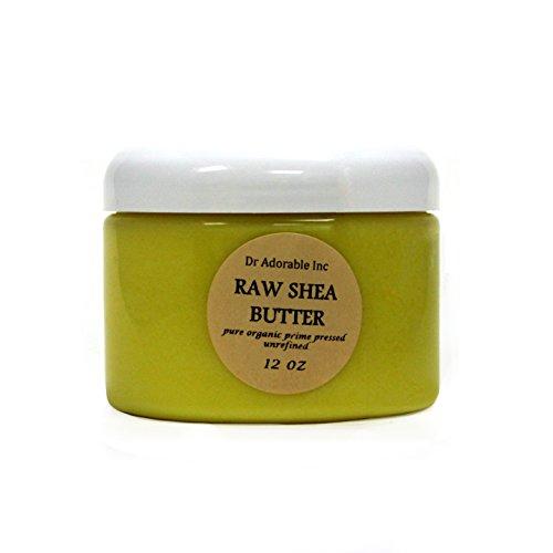 Unrefined Shea Butter Pure Raw 12 Oz