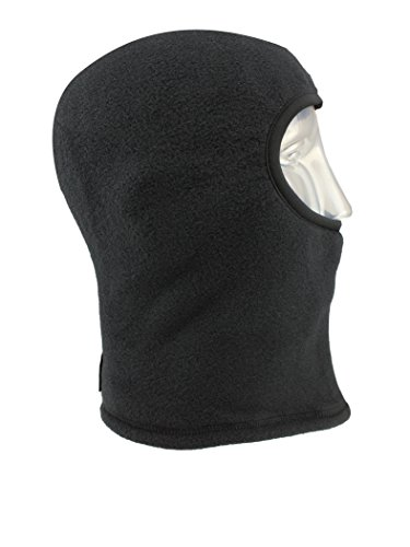 Seirus Innovation 2875 Polartec Winter Cold Weather Balaclava for Complete Head, Face, and Neck Protection,Small/Medium,Black