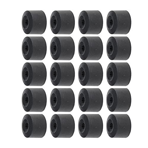 XNSCL Nuevo reemplazar piezas 20 unids 17mm rueda tuerca cubierta neumático perno tapa para VW Golf Jetta Seat IBIZA 1K0601173 auto reparación reemplazo accesorio