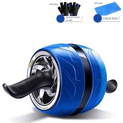 YDHWT Bauchmuskeln Rad, Roller for Core Training Ab Rollern Rad Übungs-Ausrüstung mit beständigem Band Ab Wheel for Home Gym