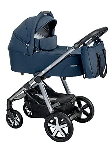 Silla de paseo combi coche deportivo Baby Design Husky (103. Navy, 2in1)