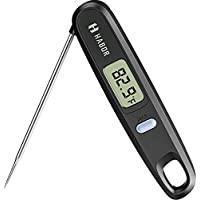 Habor Digital Kitchen Thermometer Instant Read Sensor with Foldable Probe