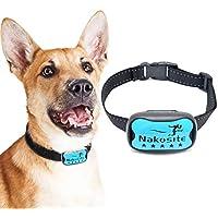 Nakosite DOG2433 Mejor Collar Antiladridos Perros para Pequeños medianos y Grandes, Bark Control Collar. Funciona Bien! Nueva tecnología!