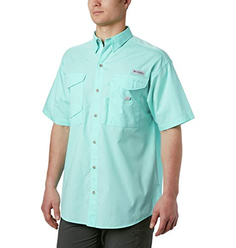 Columbia Men's Bonehead Short Sleeve Shirt,GULF STREAM,4X