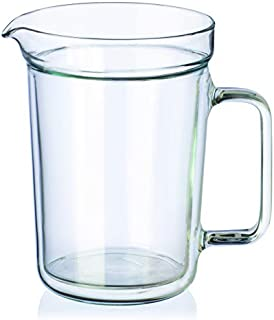 Simax Double Wall Jug, Clear, 1 Litre, SMX.51051