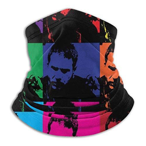 Face Scarf Rick Deckard Pop Art Blade Runner Hombres Mujeres Bandanas Seamless Personalizado Impreso Transpirable Motociclismo Cuello Gaiter Warmer Protección Solar