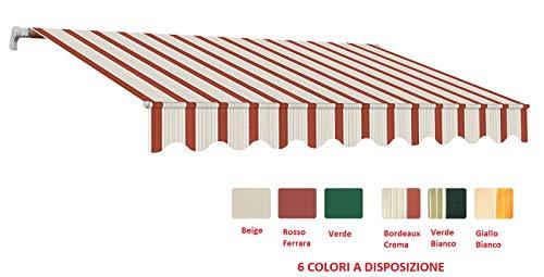 Compribene.it Risparmia con un click Tende Veneziane Tenda Veneziana in Alluminio Lamella da 25 mm Grigia H 180-250 cm