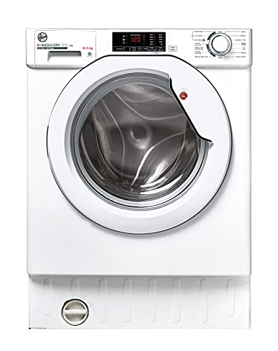 Hoover HBD 495D1E/1-80 9+5Kg 1400 Rpm Integrated Washer Dryer, White, One Size, 31800993