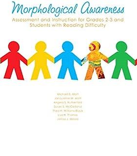 MORPHOLOGICAL AWARENESS