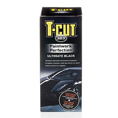 T-Cut Black 365 Kit Car Wax Polish Scratch Remover & Paintwork Sealant 1yr...
