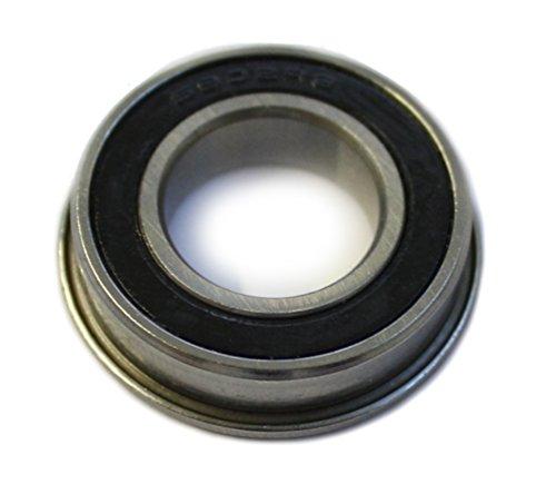 FL61902-2RSR / FL-61902 RSR Kugellager mit Flansch - Maße: 15x28x7mm / 15x30,5x7 mm (= Bundlager/Lager mit Bund)