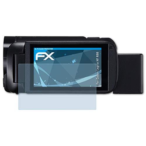 atFoliX Antichoque Película Protectora para Canon Legria HF