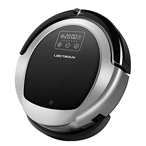 Great Deal! GKCD Sweeping Robot, 1L dust Box Remote Control Home Automatic one Machine Intelligent M...