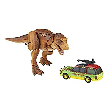 Transformers Generations Collaborative  Jurassic Park Mash-Up Tyrannocon Rex & Autobot JP93 Ages 8 and Up