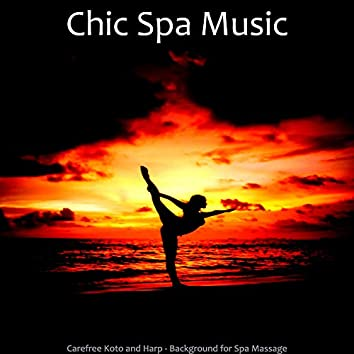 Carefree Koto and Harp - Background for Spa Massage