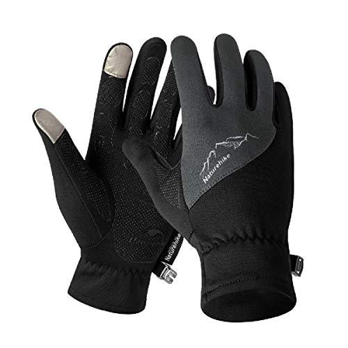 TRIWONDER Winter Warm Handschuhe Touch Screen Handschuhe Driving Handschuhe Fahrradhandschuhe für Männer Frauen (L, Schwarz)