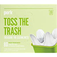 Perk 13 Gallon Low Density 0.9 Mil Kitchen Trash Bag