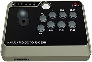 MAYFLASH Arcade Stick F300 Elite with Sanwa Buttons and Sanwa Joysticks for Xbox Series X/PS4/PS3/Xbox One/Xbox 360/Nintendo Switch/Android/PC Windows/NEOGEO Mini/SEGA MEGA Drive/SEGA Genesis