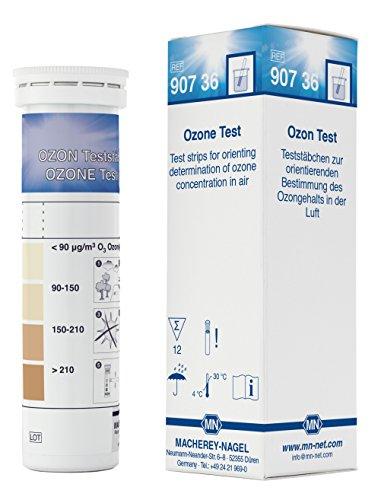 Camlab 1191582 - Strisce di prova per ozono, da bianco a marrone, confezione da 12