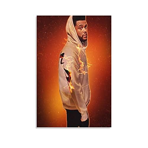 The W.e.e.k.n.d XO Starboy Poster Stampa The Weekend Trilogy Rap Rock Hip Hop DJ (24) Stampa artistica su tela e stampa artistica da parete Modern Family camera da letto Decor poster 20 × 30 cm