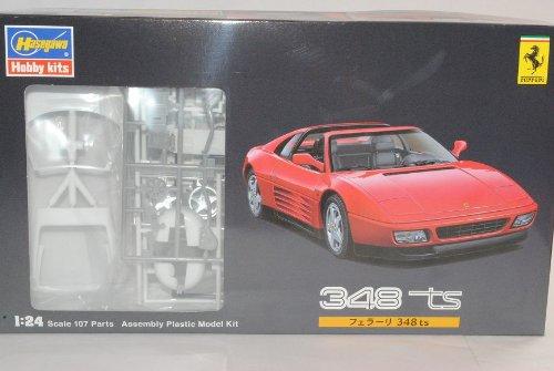 Hasegawa Sonderposten - Ferrari 348TS Cabrio Rot Kit Bausatz 1/24 Modell Auto Modell Auto
