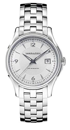 Hamilton Hamilton Jazzmaster Viewmatic Silber Zifferblatt Mens Watch H32515155