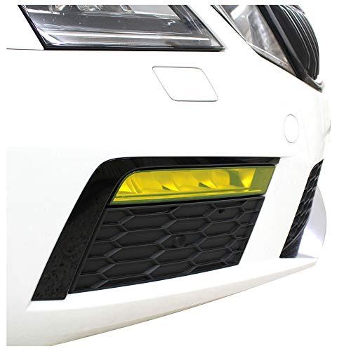 Nebelscheinwerfer Tagfahrleuchten Folien Set Tönungsfolie Aufkleber (DTM Yellow, C037 Facelift)