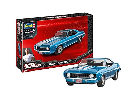 ドイツレベル 1/25 Fast&Furious 1969年 シェビーカマロ イェンコ プラモデル 07694