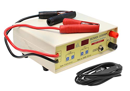 Hanchen 1050NP Ultrasonic Inverter Safe Protection Electro Fisher Fish Shocker Fish Stunner for Both Camp or Boat Use