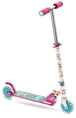 Mondo Motors 18589 - Jeu de Plein Air - Patinette - 2 Roues - Hello Kitty - Coloris aléatoire