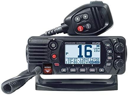 White Standard Horizon GX1400 Eclipse Fixed Mount VHF Radio
