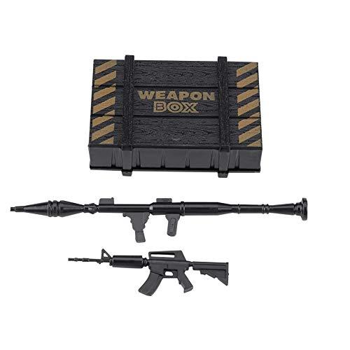 Fit For: La scatola armi RC è appositamente progettata per l'auto RC Traxxas Hsp Redcat Rc4wd Tamiya Axial scx10 D90 Hpi. Materiale Premium: la scatola dell'arma cingolata è realizzata in materiale plastico di alta qualità, resistente, solida ed eco-...