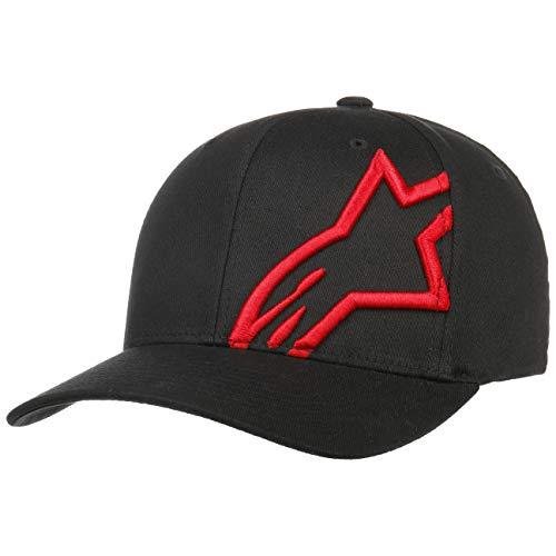Alpinestars, Corp Shift 2 Flexfit, Casquette De Baseball, Noir Rouge, S/M, Homme